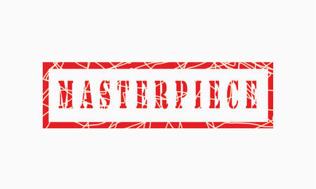 masterpiece, grunge rubber stamp isolated on white background, grunge text rubber stamp, grunge rubber stamp background Concept Design