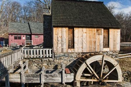 grist: An old vintage grist mill
