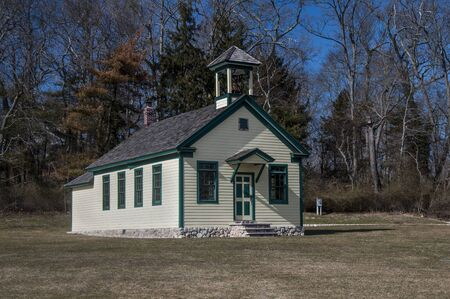 restored: Built in 1813, a restored old school house in Coram, NY