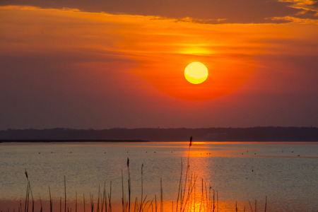 great bay: Sunset over the Great South Bay