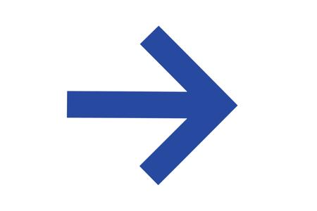 blue arrow: Blue arrow sign