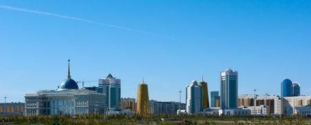 astana: central part of Astana, the capital of Kazakhstan