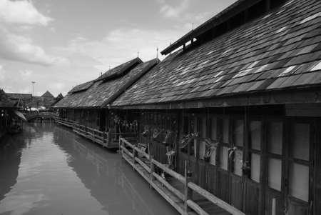 floating market: Thailand Floating market