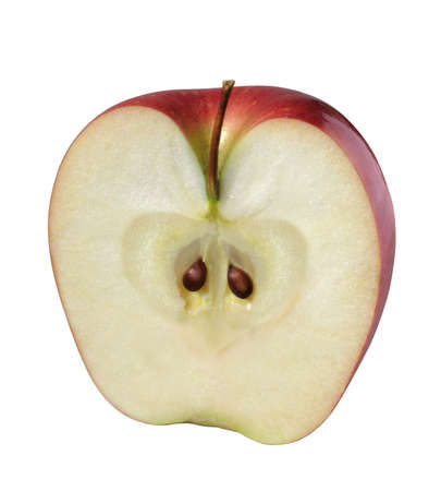 fruitage: Half of Apple (with outline path)