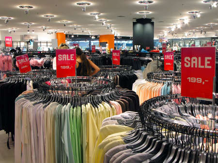 Sale in shop photo