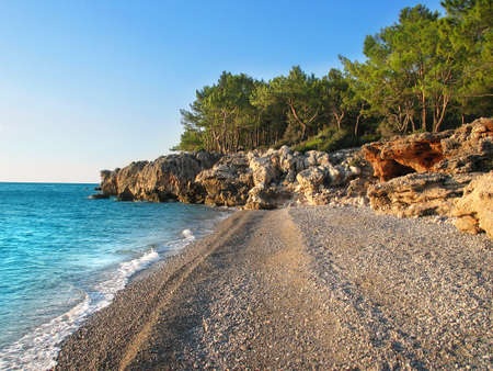 Wild beach Near Antalya