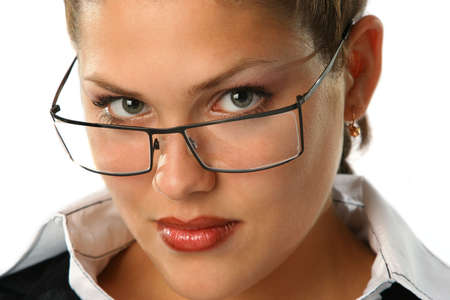 Beauty Business woman with glasses Stock Photo - 1777293