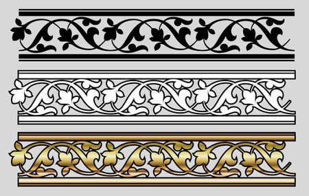Vicrtorian Style Design Elemets (Vector) Stock Vector - 1888067