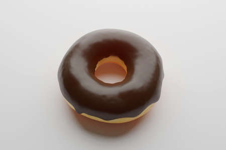 Chocolate flavor Doughnut