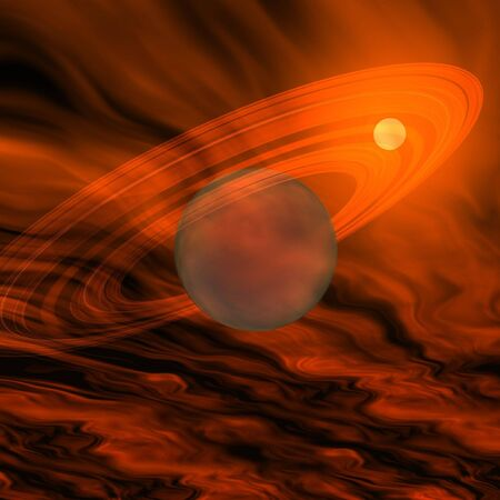 clouds scape: GAS GIANT