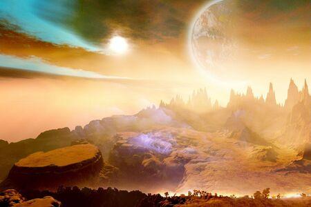 alien planet: ZAXIX