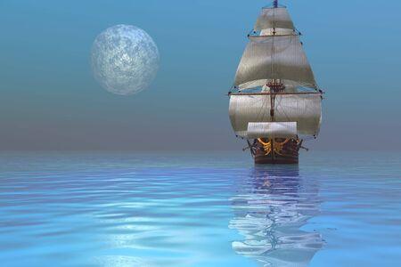 CLIPPER SHIP photo