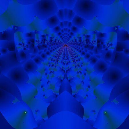 青いゴンドラ 写真素材