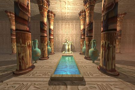 EGYPTIAN TEMPLE photo