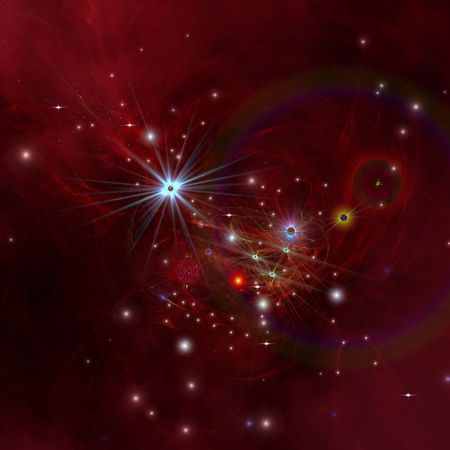 matter: Nebular clouds, gases and stellar matter bring on the birth of stars.
