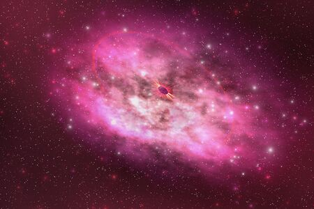 millions: A huge nebula contains millions of stars and planets.