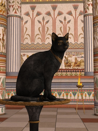 BAST - Bastet or Bast is the name commonly used by scholars today to refer to a feline goddess of Ancient Egyptian religion who was worshipped at least since the Second Dynasty.