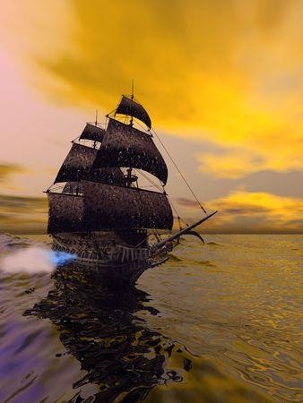 Latający Holender, według folklorem, jest statku ghost, które nigdy nie przejść domu, skazane na przepłynięcie oceanów w nieskończoność. Latający Holender zazwyczaj nanosi się od daleko, czasami rozbłysnął z nawiedzoną światła. Powiedział, że jeśli Wii przez innego statku, I