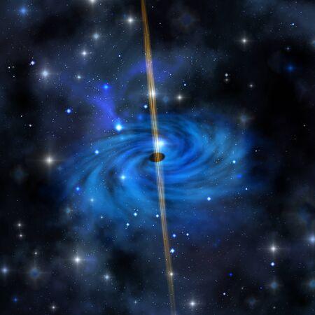 CLUSTER GALAXY - een dichte sterrenhoop vormt deze galaxy uit in de ruimte.