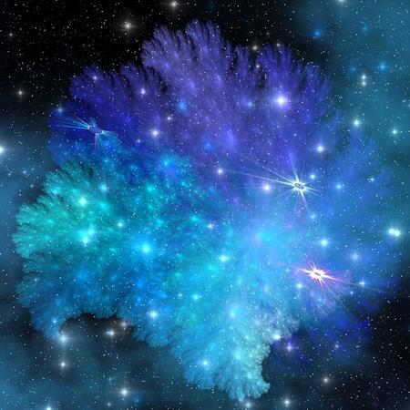 SUPER-DENSE RELIKWIE - een verzameling van gassen en sterren accumuleren na de explosie van een neutronenster.