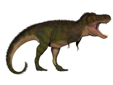 behemoth: T-Rex Behemoth - Tyrannosaurus Rex lived in North America in the Cretaceous Period and was an intimidating predator  Stock Photo