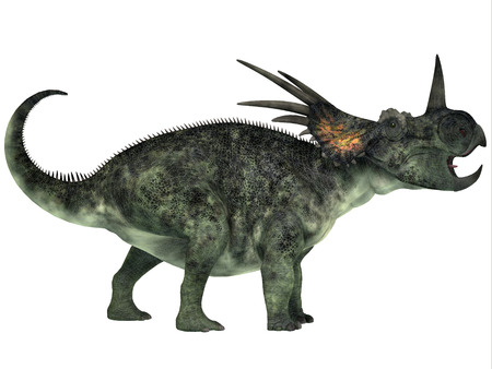 mesozoic: Styracosaurus Profile - Styracosaurus was a genus of herbivorous ceratopsian dinosaur from the Late Cretaceous Period