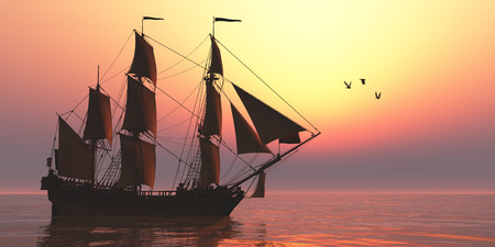 frigate: Medusa Sailing Ship