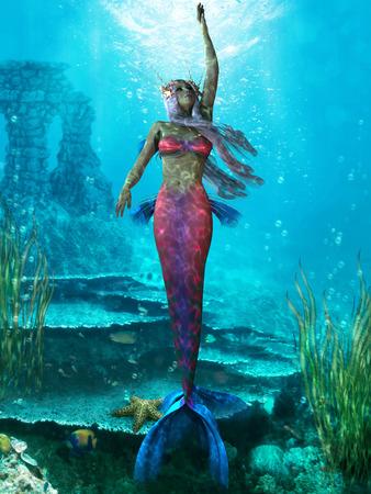 Ocean Mermaid photo