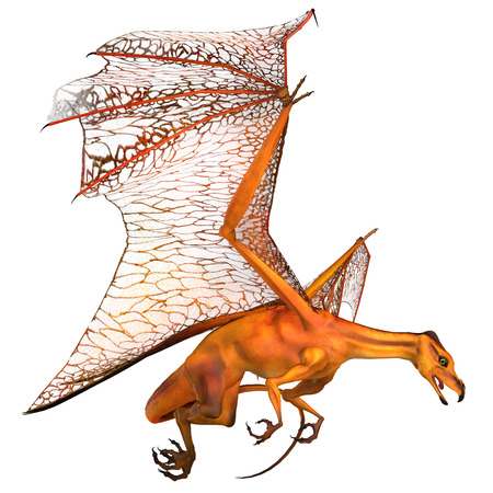 known: Miniature Golden Dragon - Dragons are mythical creatures known throughout history as having wings and breathing fire.