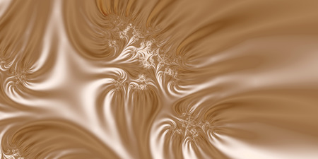 Ivory Silk - An abstract fractal design representing silk or velvet material in ivory and creamy white colors.