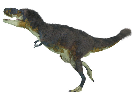 carnivore: Daspletosaurus Side Profile   Daspletosaurus was a carnivorous theropod dinosaur that lived during the Cretaceous Period of North America.