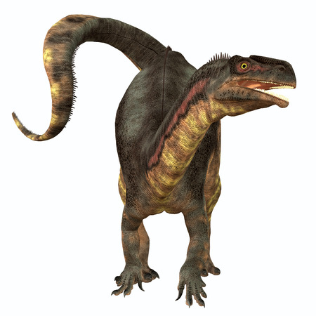 triassic: Plateosaurus Herbivore Dinosaur - Plateosaurus was a prosauropod herbivorous dinosaur that lived in the Triassic Age of Europe.