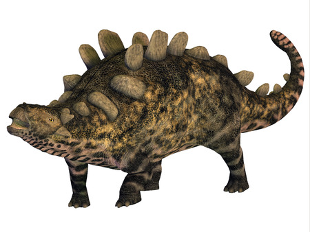 armored: Crichtonsaurus Armored Dinosaur - Crichtonsaurus was a heavily armored Ankylosaur that lived in the Cretaceous Period of China.