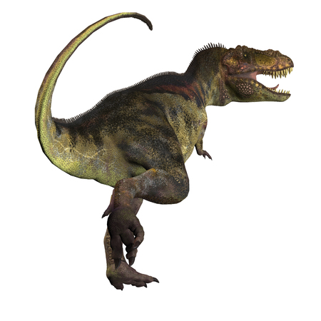 cretaceous: T-Rex Dinosaur Tail - Tyrannosaurus Rex was a carnivorous dinosaur that lived in the Cretaceous Period of North America.