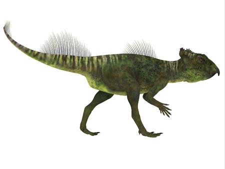 ウダノケラトプス恐竜横顔 - ウ...