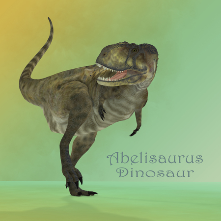 Abelisaurus Predator Mirror - Abelisaurus was a carnivorous theropod dinosaur that lived in Argentina during the Cretaceous Period.