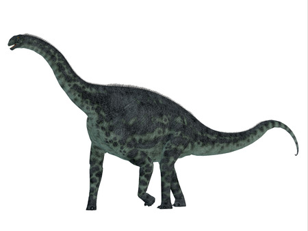 Cetiosaurus was a herbivorous sauropod dinosaur that lived in Morocco, Africa in the Jurassic Period. Фото со стока