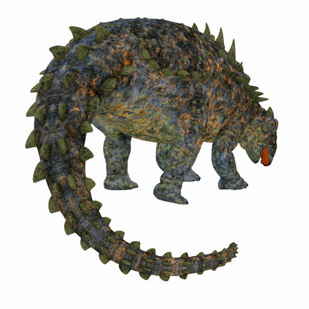 Polacanthus Dinosaur Tail - Polacanthus was an armored herbivorous dinosaur that lived in Europe during the Cretaceous Period.