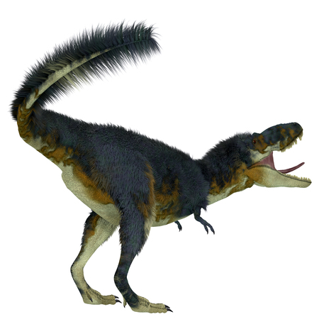 Daspletosaurus Dinosaur Tail - Daspletosaurus was a carnivorous theropod dinosaur that lived in North America during the Cretaceous Period.