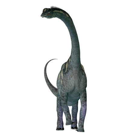 Sauroposeidon was a sauropod herbivorous dinosaur that lived in North America during the Cretaceous Period.