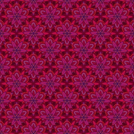 Bright pink and burgundy pattern Illustration