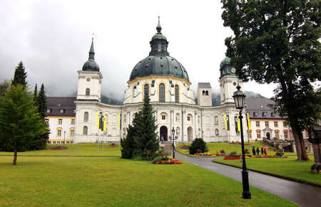 ettal: old monastery in Ettal, Germany