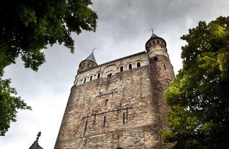 R�misch-katholische Basilika Unserer Lieben Frau in Maastricht, Niederlande Lizenzfreie Bilder