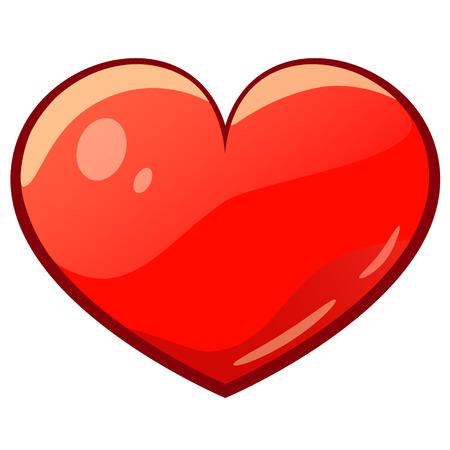 isolated valentine cartoon drawing heart
