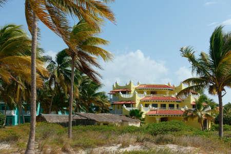 Colorful Cuban resort Editorial