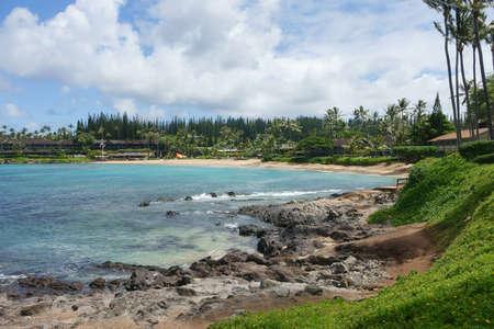 Napili beach, on the island of Maui, Hawaii