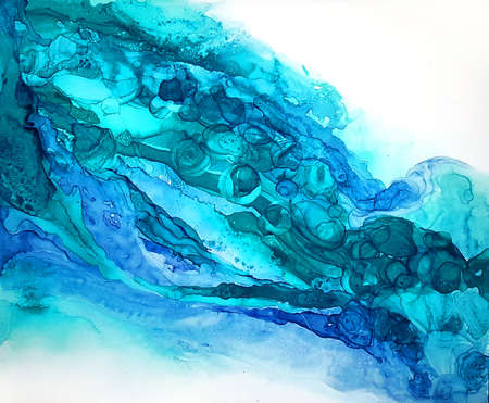 Alcohol ink texture. Fluid ink abstract background. art for design the art for the design of transparent creativity. Abstract works of art. Fashion Wallpaper. The colors are amazingly bright, luminous, translucent, loose and dry quickly. Natural pattern