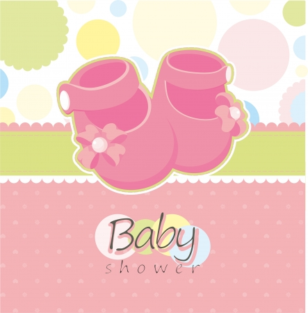 childishness: Baby shower greeting card