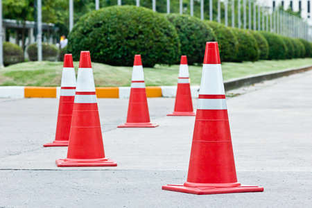 Road block 免版税图像