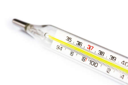 thermometer isolated